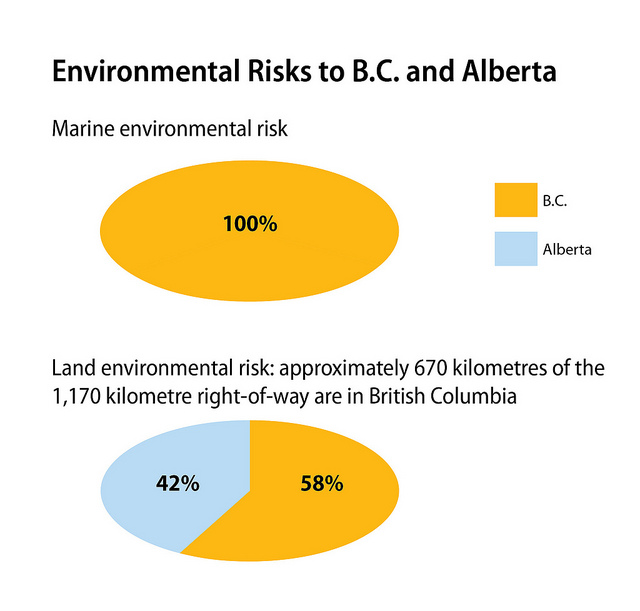 BC government graphic on environmental risk