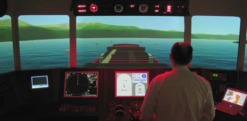 Marine safety simulator
