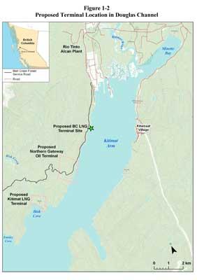 BC LNG Map