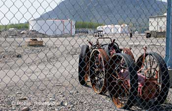 The old Methanex site in Kitimat