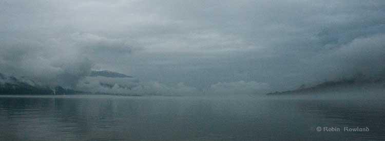 Fog shrouds Kitimat harbour