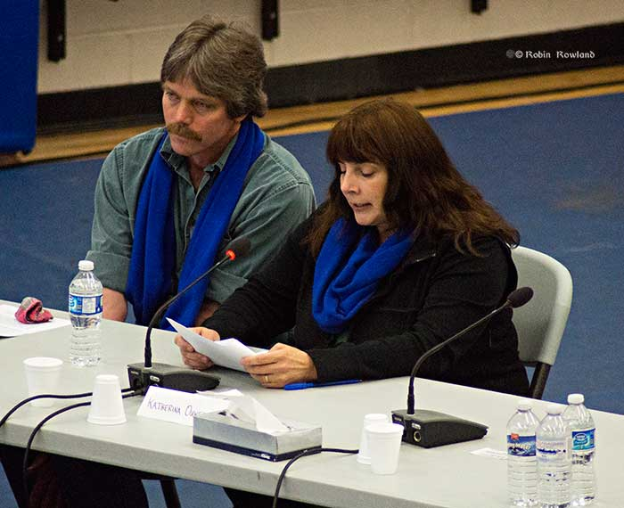 Katherina Ouwehand   Murray Minchin  at JRP hearings