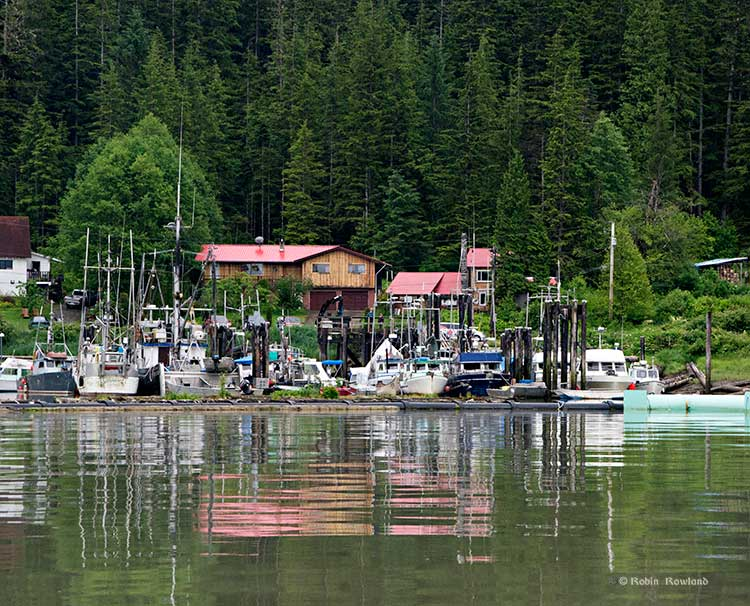 Kitamaat Village dock