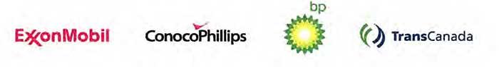 Energy company logos