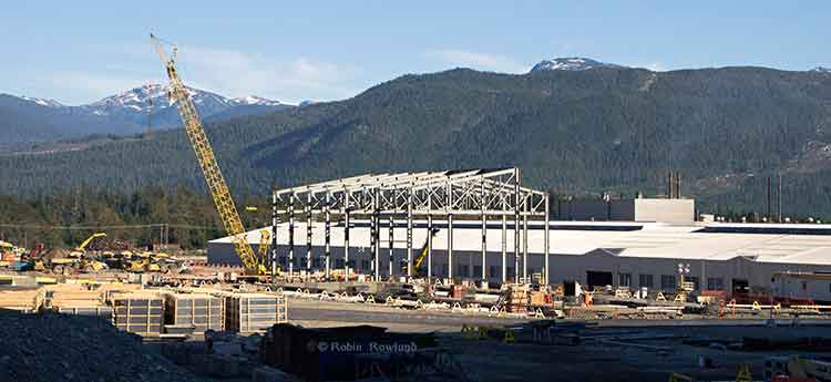 Construction at Rio Tinto Alcan