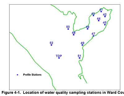 Water monitoring stations at Ward Cove, Alaska