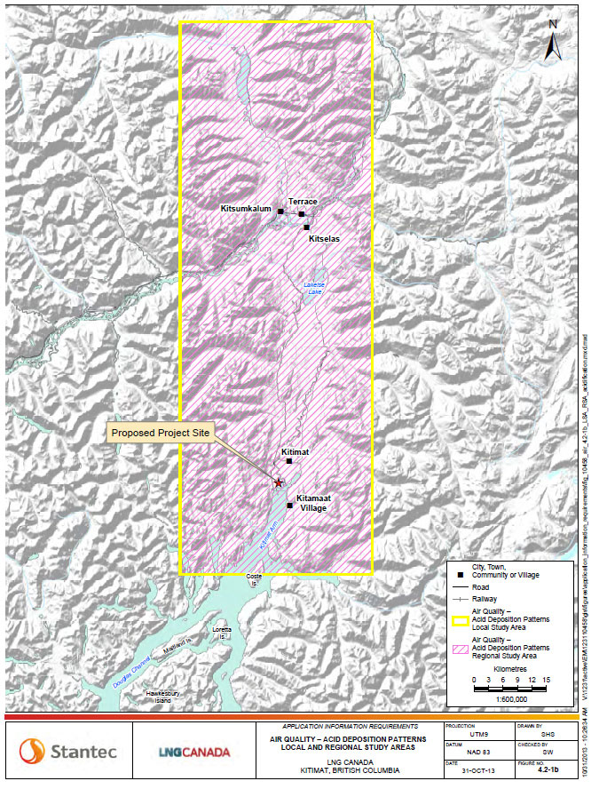 Kitimat Airshed Map