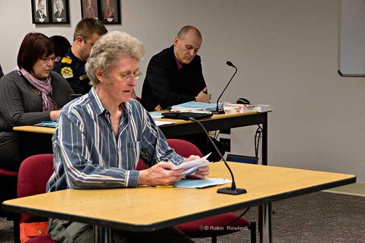 Peter Ponter at Council