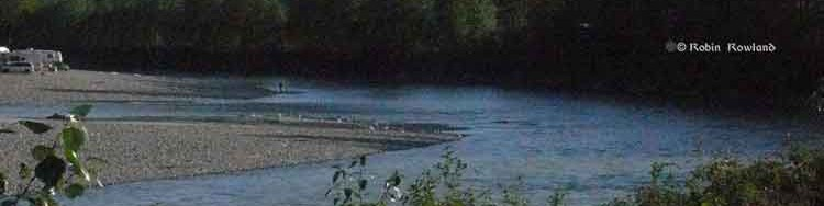 Fishing and camping on the Kitimat River