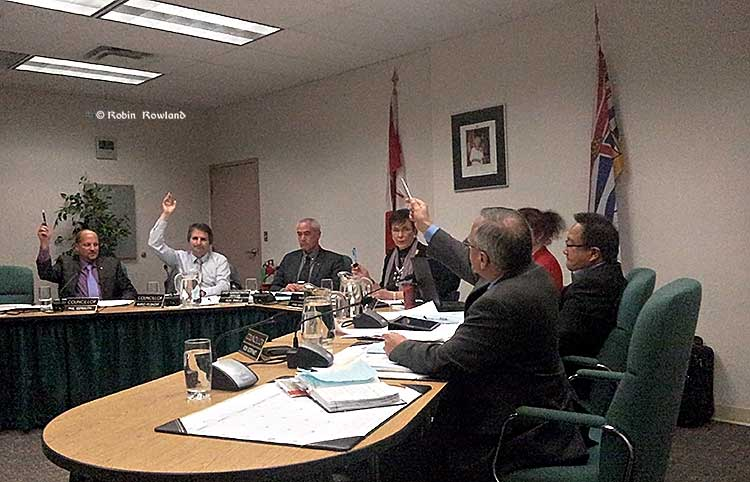 Kitimat Council vote