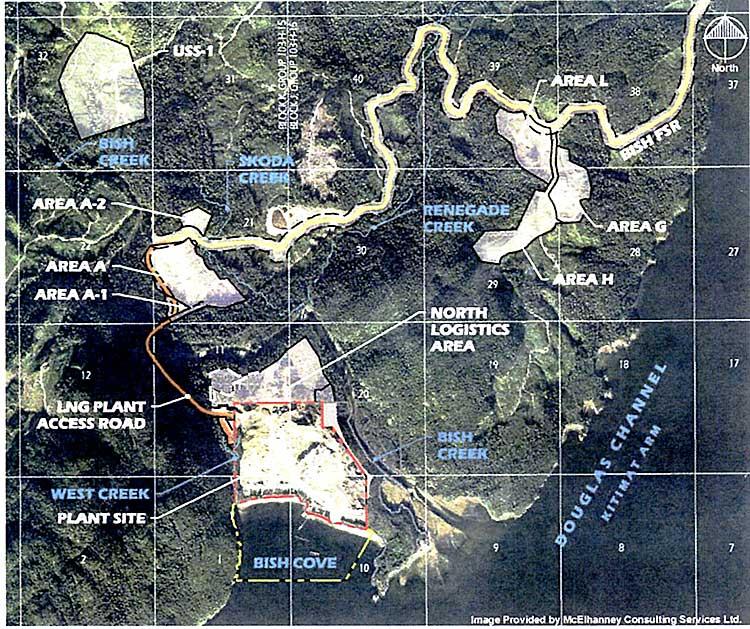 Map of Bish Cove