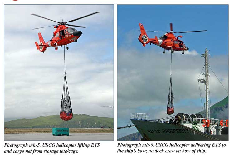 ETS and helicopters
