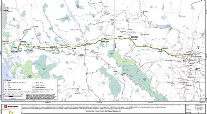 Courts, costs stall Northern Gateway