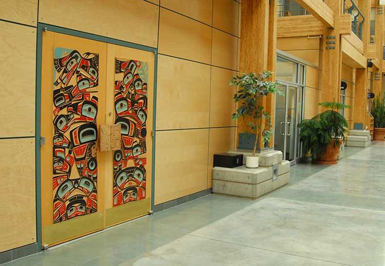 UNBC adminstration building