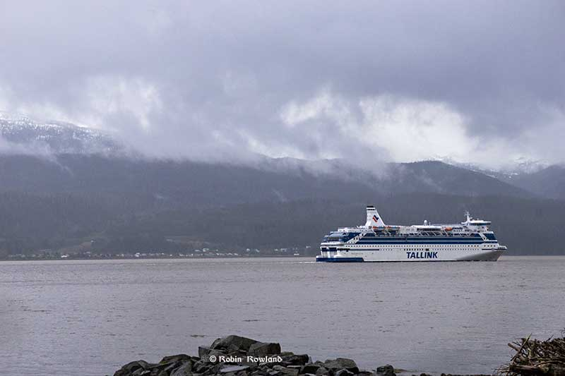 Silja Festival leaves in Kitimat