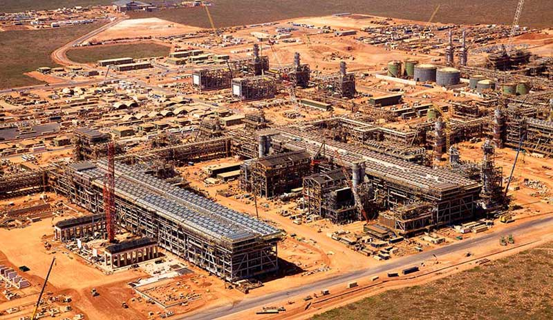 Chevron Gorgon LNG project