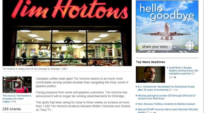Why the media coverage of the Tim Hortons boycott is a double double failure