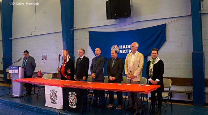 Haisla celebrate incremental treaty pact with BC, see more traditional lands returned