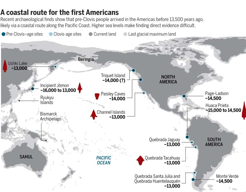 """West Coast """"kelp highway"""" was the earliest route for First Peoples' settlement of the Americas is the new scientific consensus"""